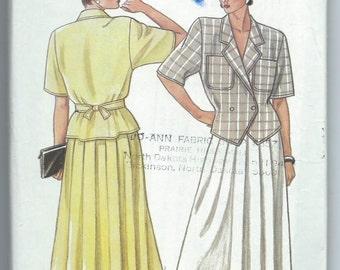 New Look 6333 - Misses' Top and Skirt - 8-10-12-14-16-18 - Uncut Vintage Pattern