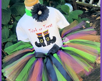 2-3yrs, Ready to Ship, Trick or Treat, Party Outfit, Witch Boots, Halloween, Theme Party, Photo Shoots