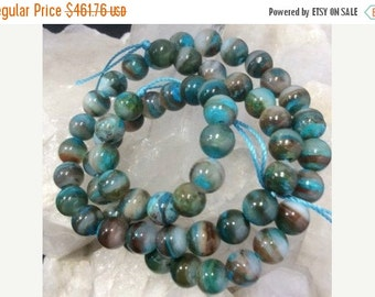 50% Mega Sale 7mm Peruvian Opal Gemstone Round Beads
