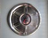 1965 Ford Mustang Hubcap Clock no.2517