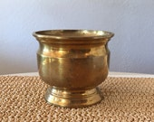 Heavy Brass Container