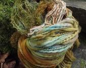 On Sale in May 10% offHandpainted handspun Yarn kit bundle, three skeins OOAK, bulky Merino, Mohair, Bamboo-Euphrosyne