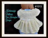 Little Cherub- knitted shrug cardigan sweater. KNITTING PATTERN,#1013, easy enough for beginners. Newborn to 2 years. knitting for baby