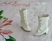 Victorian Boots for Blythe dolls, 1/6 BJD dolls, 3cm feet, Azone pure neemo body S and XS