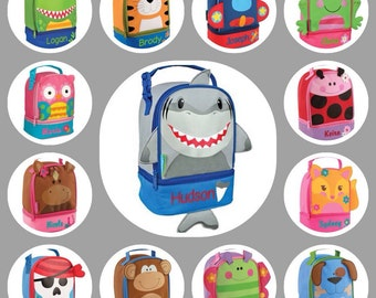 Toddler  lunch box / stephen joseph lunch box / personalized lunchbox  / preschool lunch box /kids  lunch box  / LUNCH PALS