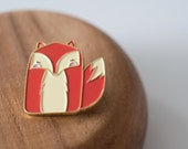 Mini Mr Fox ENAMEL PIN
