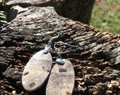 20 Dollar Wood Earrings Made From Reclaimed Buckeye Burl
