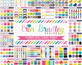 Planner Girl Clipart Bundle - 40 Sets Personal & Commercial Use Clip Art Graphics