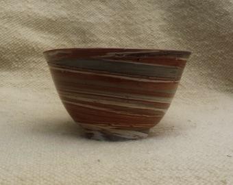 Brown-Grey Bowl 24