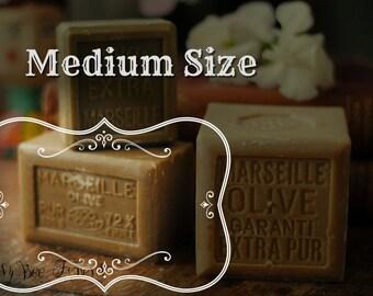 Olive Oil Soap Marseille Soap, Savon de Marseille Felting Hipoalergenic Vegan Soap - MEDIUM SIZE - 300 grams - 10 oz