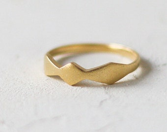 14k Gold Thin Bow Ring, Engagement Ring. Bow Shaped Ring. 14K Solid Gold. Dainty Stackable Wedding Ring, Promise Ring, Anniversary Ring