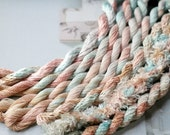 Silk  Embroidery Thread for Needlework, Embroidery, Stumpwork hand dyed in Paris