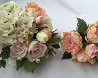 Bridal Bouquet AND Toss Bouquet