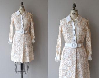 Daydream Believer dress | vintage 1960s dress | Samuel Grossman 60s lace mini dress