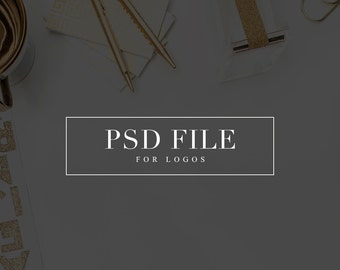 PSD File Add On Logo Designs