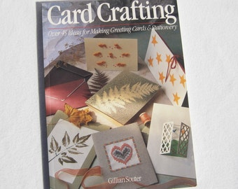 Card Crafting Book Vintage Instructional Book Vintage How To Book Making Cards Book How To Book Instructional Book Vintage Card Making Book