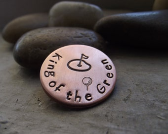 Copper Golf Ball Marker