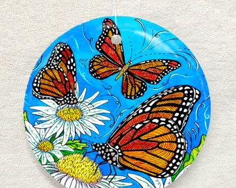 Monarchs Butterfly Ornament and Suncatcher