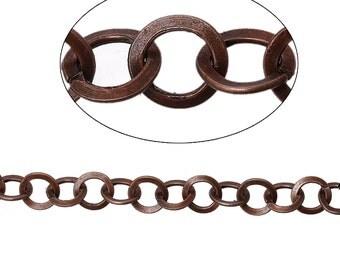 BULK - Antique Copper Chain - 6 feet - #CH73977