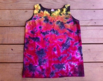 SummerTime Tie Dye Tank Ladies Size S - 3X