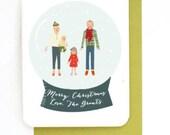 Custom Family Holiday Cards