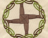 Brigid's Cross Applique Embroidered Patch , Sew or Iron on