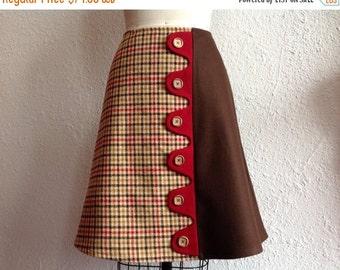 SALE Patti asymmetrical a-line skirt Sz 6