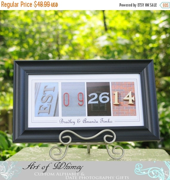 sale personalized wedding gift for son newlywed gift new home gift