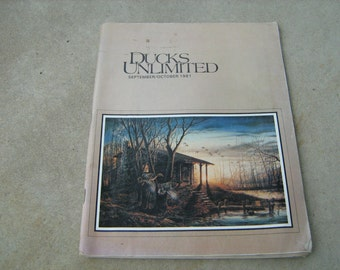 1981 Ducks Unlimited September-October magazine