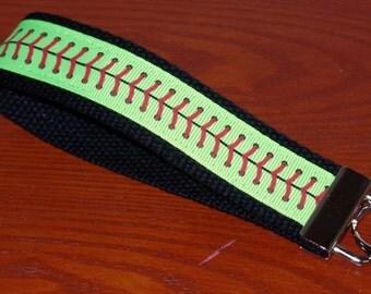 LARGE Softball Key Fob