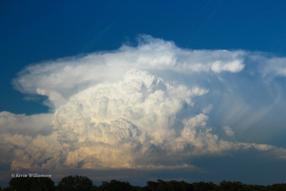 Towering Texas Thundercloud—Photo Print or Canvas Gallery Wrap
