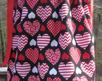 on sale size 3t spring pillowcase dress, valentine pillowcase dress first valentine pillowcase dress,school valentine party