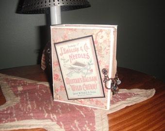 """Mini Photo Scrapbook Album""""Vintage"""""""