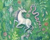 Unicorn Magic - 8x8 print