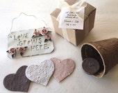 Custom Listing - Plantable Heart Garden Gift Sets