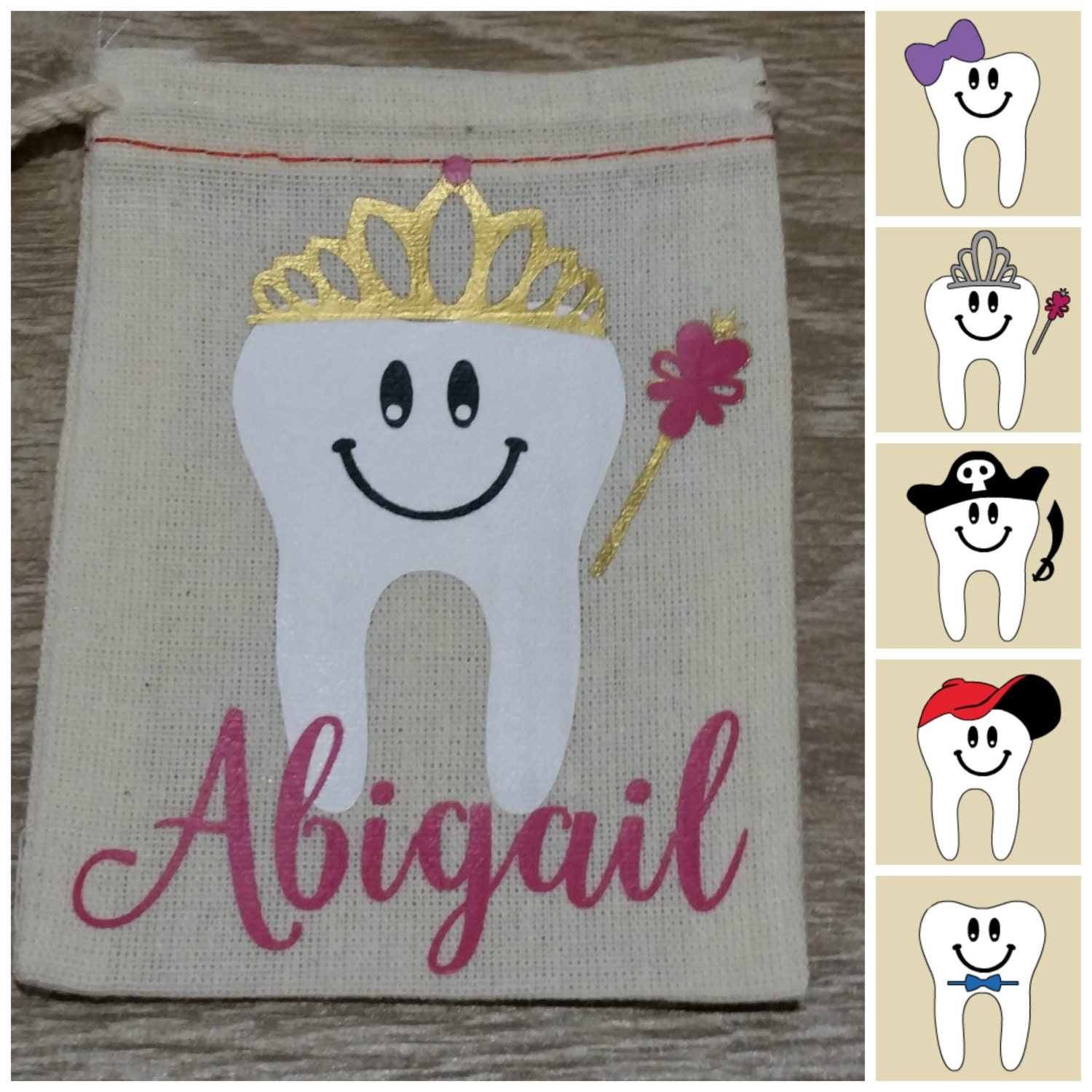 Tooth Fairy Bags To Make