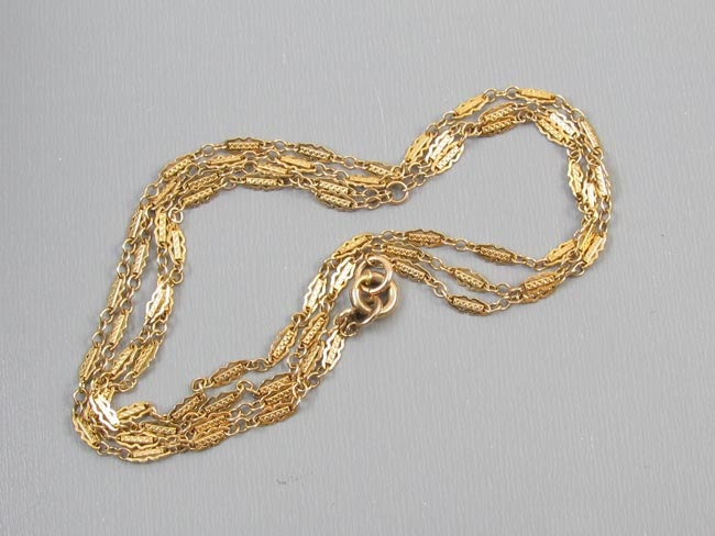 Ladies vintage Art Deco 1920s fully convertible gold filled Y necklace bracelet signed Simmons pocket watch chain lapel watch j141