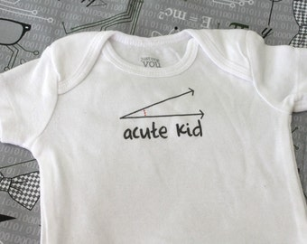 Acute Kid Baby Bodysuit (sizes newborn to 24 months)