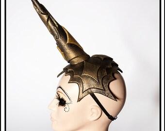 Golden Unicorn… Unicorn Headdress