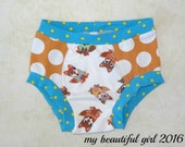Size 3/4 Foxy Dots Childs Underwear - INSTOCK
