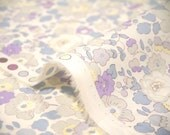 liberty of london -special limited print - Betsy -  pastel blue, purple and grayish/green.