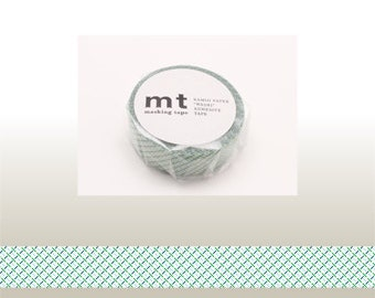 mt masking tape - dashed line - green / red