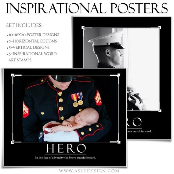 poster set inspirational series memories 10 16x20
