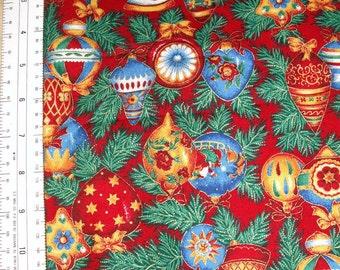 CHRISTMAS Fabric Ornaments VIP Cranston Printworks Yardage Sewing