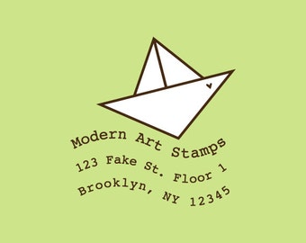 Custom Rubber Stamp   Custom Stamp   Return Address Stamp   Custom Address Stamp   Personalized Stamp   Boat Stamp   Love Stamp   C386