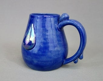 Lapis Lazuli Mug: Crystal Gem Inspired Steven Universe Ceramic Coffee Mug