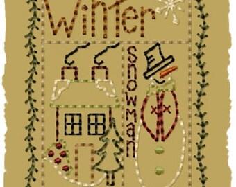 Winter Sampler- Version 2 - 4x4--INSTANT DOWNLOAD