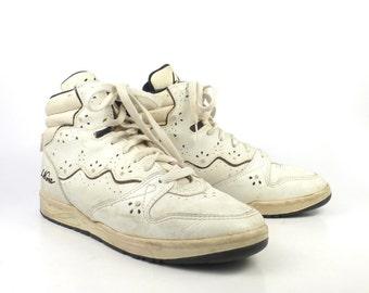 LA Gear Sneakers Vintage 1980s High Tops Aerobic Shoes Women's size 10