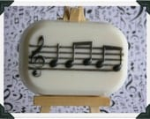 MUSICAL NOTES Soap - Musician - Band - Orchestra - Piano - Music Student & Teacher - Conductor - Composer - Song Writer - Musical Instrument