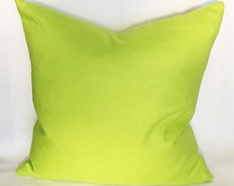 Electric Green Pillow